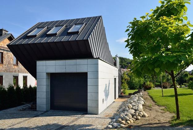 space saving architectural designs, unique house exterior