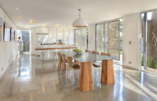 Beautiful Modern Kitchen Design And Dining Furniture