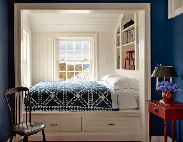 White decorating ideas for small bedroom design & 22 Inspiring Small Bedroom Design and Decorating Ideas