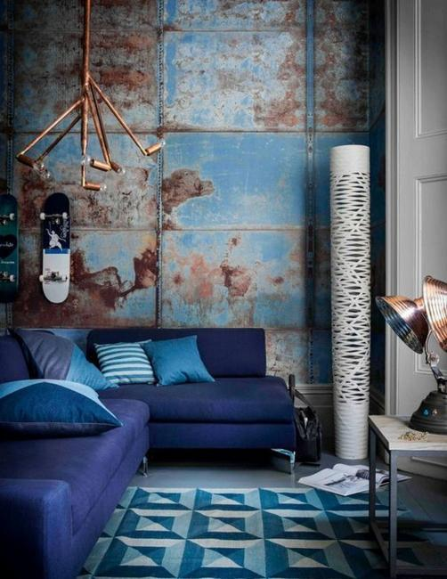 Living Room Design Blue: 30 Modern Interior Design Ideas, 10 Great Tips To Use