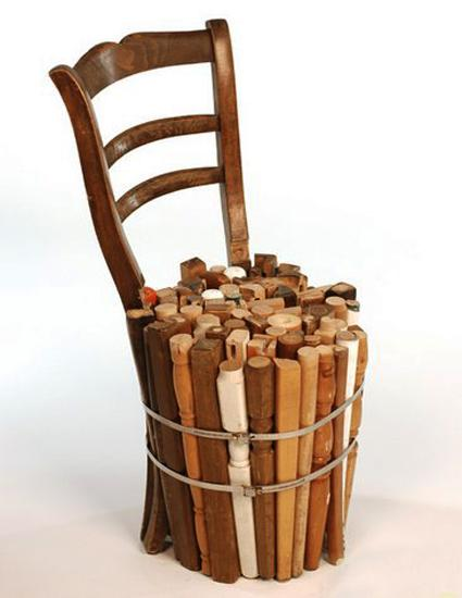 Creative Way To Reuse And Recycle Old Wooden Chairs