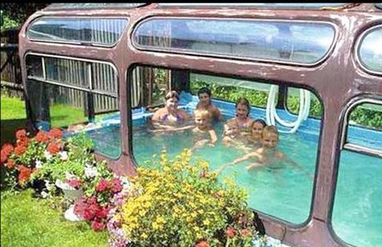 Fun Recycling Ideas For Old Buses