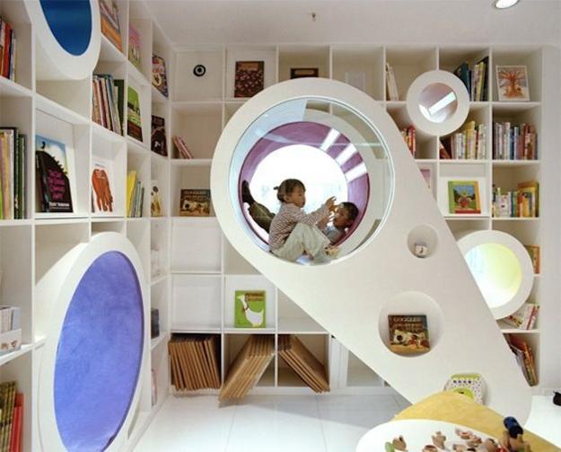 Futuristic Kids Playroom Ideas