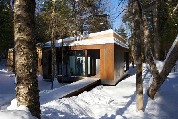 Beautiful Modern House Designs In Snow Country