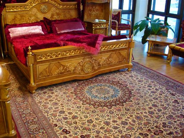Oriental Interior Decorating In Azerbaijan Influenced By European And Arab Cultures