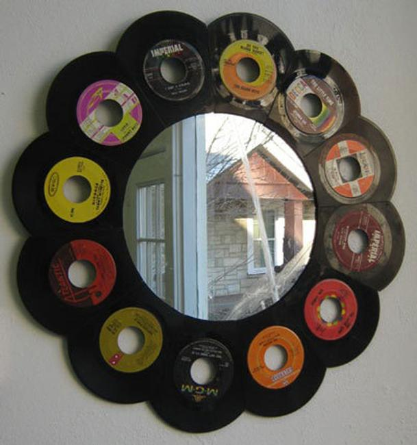 20 Recycling Ideas For Home Decor: 6 Plastic Recycling Ideas Turning Vinyl Records Into Green