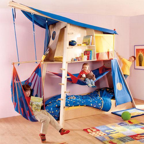 Fun Kids Rooms: 12 Creative Kids Beds And Wonderful Children Bedroom