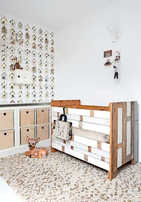 Baby Room Decor With Wooden Furniture