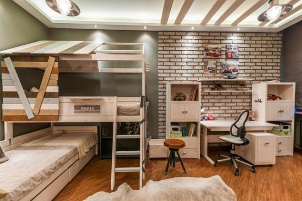 Wooden Wall Design, Baby Room Decorating
