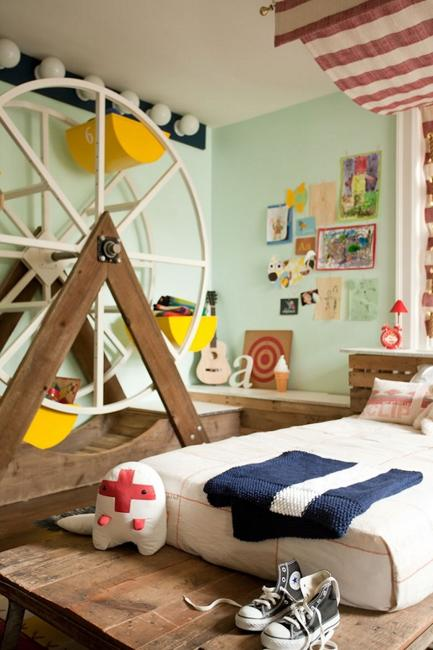 Wood Toys And Wooden Furniture For Kids Room Design
