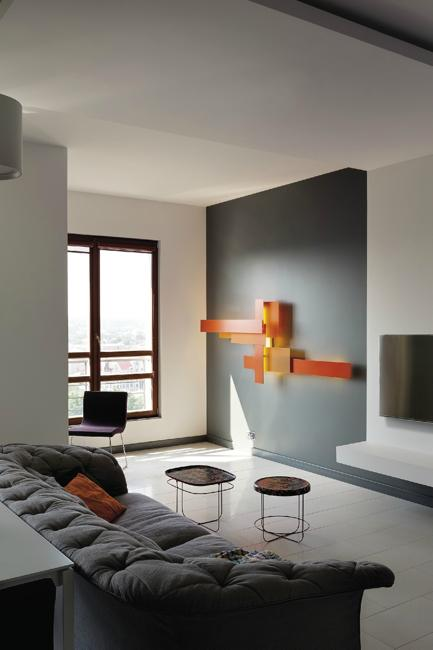 Design Apartment Living Room: Modern Apartment Ideas, Space Saving Interior Design With