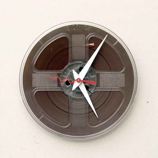 how to recycle and make wall clock