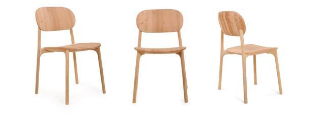 Wooden Chairs Scandinavian Design