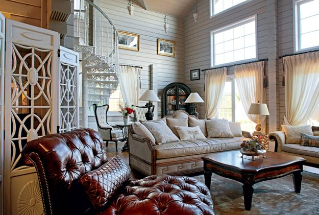 Country Home Decorating Ideas Blending Modern Chic And Comfort With