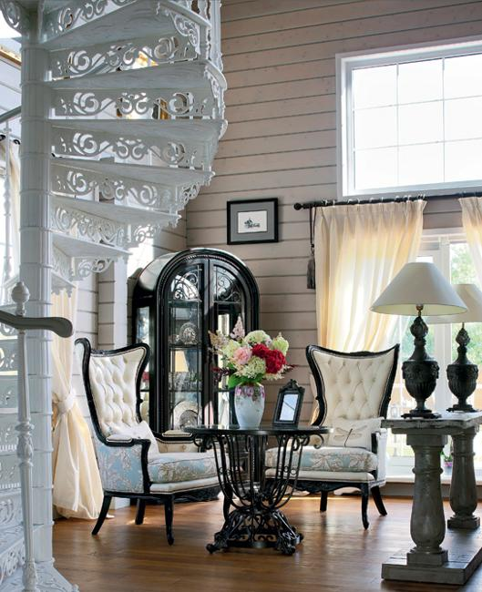 Modern Vintage Home Decor Ideas: Country Home Decorating Ideas Blending Modern Chic And