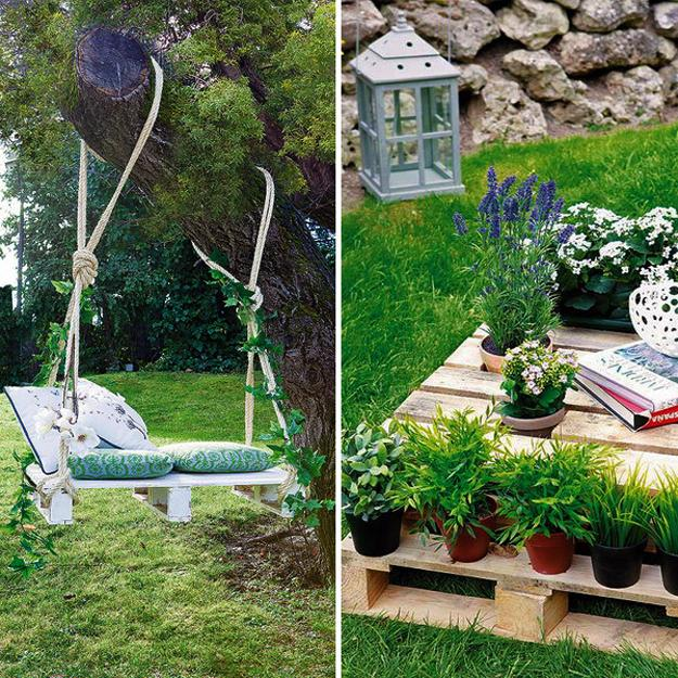 Recycling Junk And Salvaged Wood For Unique Backyard Designs