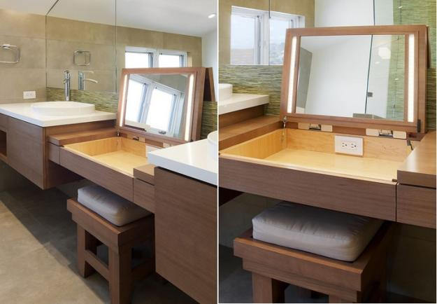 Beautiful Vanity Dressing Tables Adding Chic To Modern Bathroom Design