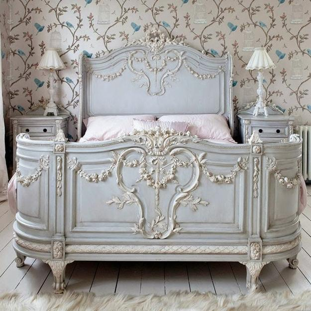 22 classic french decorating ideas for elegant modern for Classic french beds
