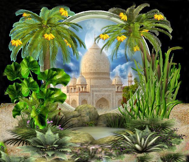 25 Garden Design Ideas For Landscaping In Moresque Style
