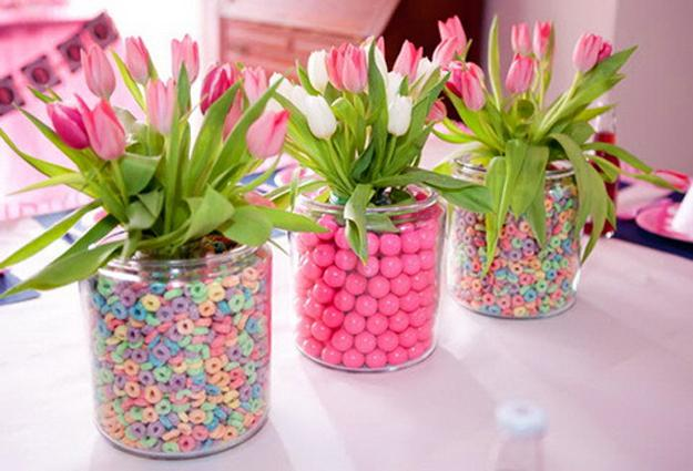 20 Beautiful Ideas For Spring Decorating With Flowers