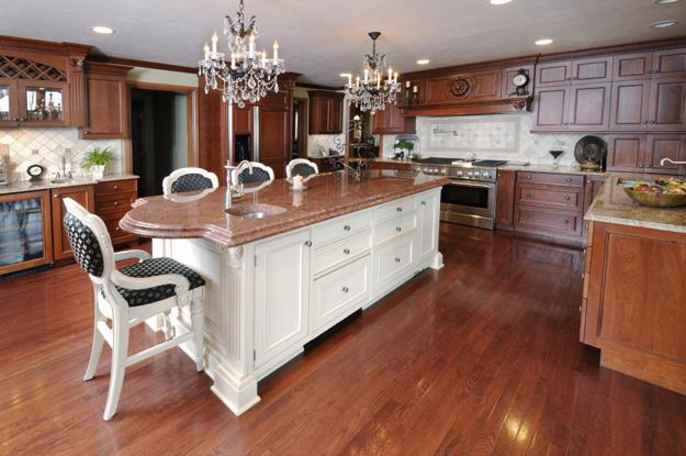 wooden kitchen islands