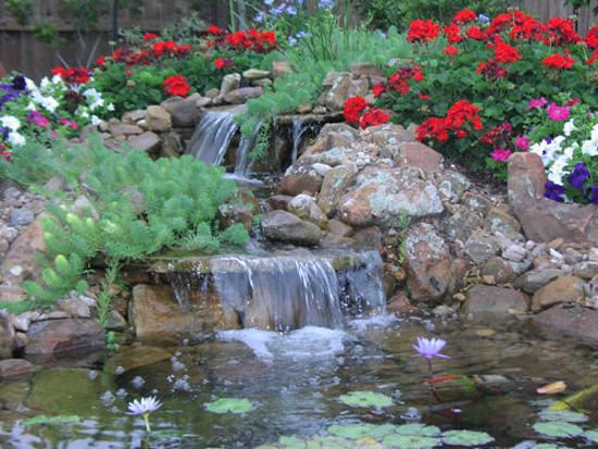 21 Waterfall Ideas to Add Tranquility to Rock Garden Design on Rock Garden Waterfall Ideas id=38202