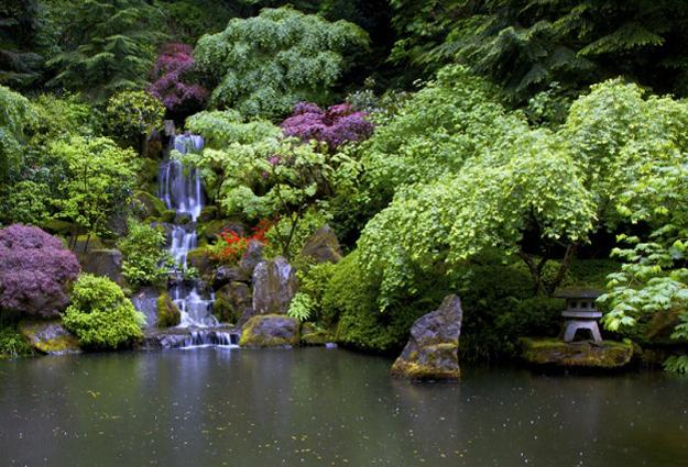 21 waterfall ideas to add tranquility to rock garden design - Small backyard landscape designs ...