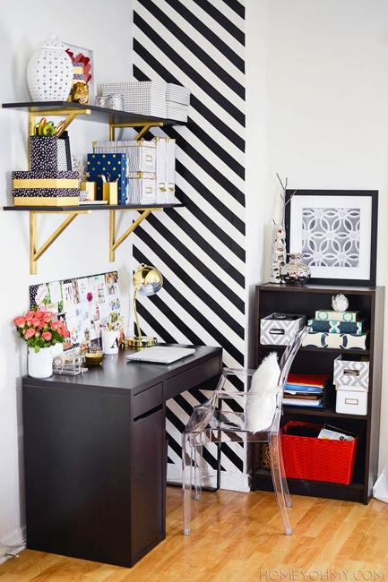 Black And White Decorating Ideas For Home Office Designs