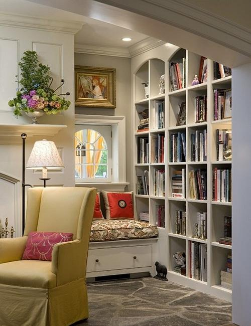 Contemporary Home Library Design: 10 Home Staging Tips And Modern Interior Design Ideas