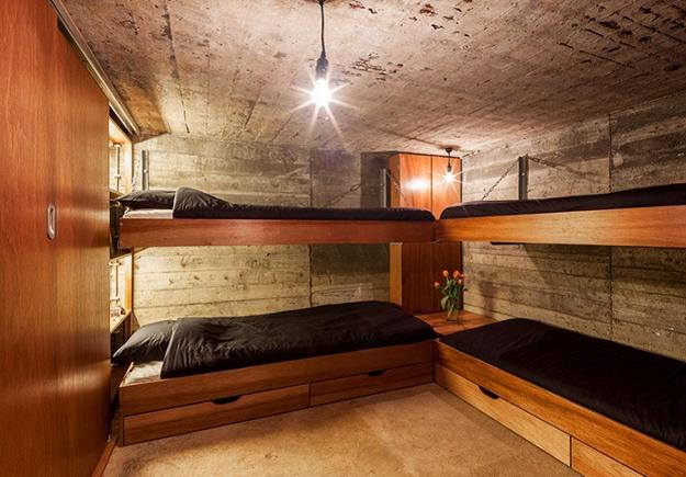 Conversion Design Idea Transforming Military Bunker Into