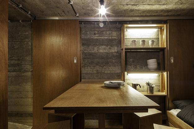 Conversion Design Idea Transforming Military Bunker into Small ...