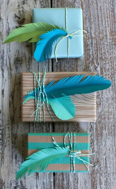 recycled craft ideas for decorating gifts