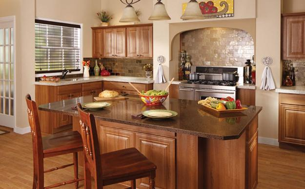 30 Amazing Design Ideas For A Kitchen Backsplash: Granite Tops, Trends In Table Tops, Bathroom And Kitchen