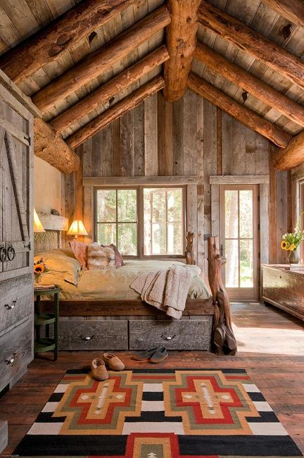Charming Log Homes Designs, Interior Decorating Ideas