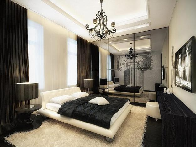 Charmant Black And White Bedroom Designs