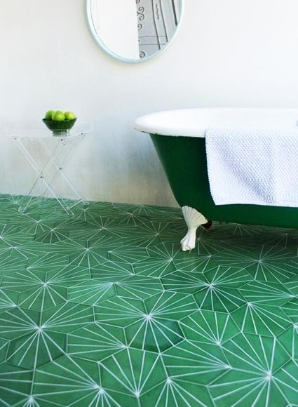 Modern Interior Design And Decor Malachite Green Colors