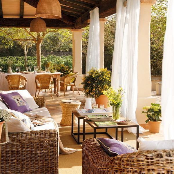 Attirant Classic Patio Ideas In Mediterranean Style