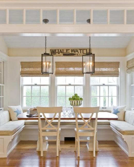 Decorating Ideas 15 Window Seats: 15 Cozy Interior Design Ideas For Space Saving Breakfast Nooks
