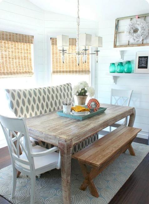 awesome breakfast nook furniture decorating ideas | 15 Cozy Interior Design Ideas for Space Saving Breakfast Nooks