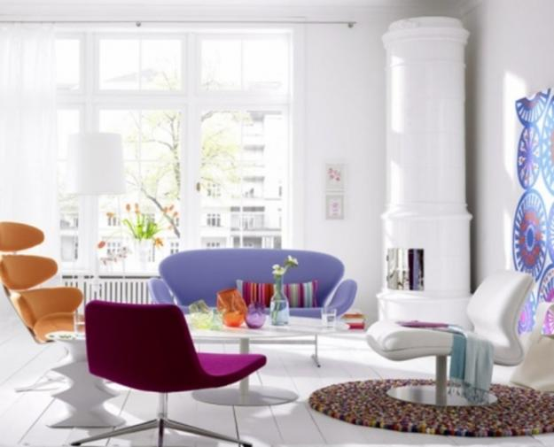 bright room colors for modern home decorating