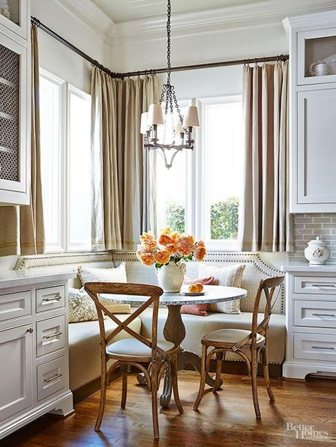 Space Saving Interior Design Ideas for Corner Kitchen Nooks and Dining Areas & Space Saving Interior Design Ideas for Corner Kitchen Nooks and ...