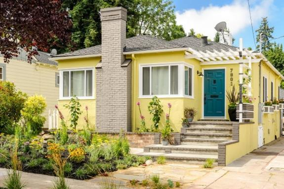Bright Exterior Paint Colors Adding Fun To House Designs,Pantone Color Report 2017