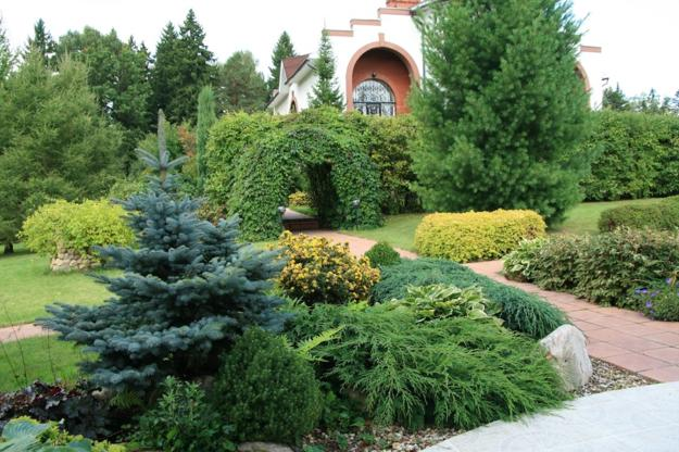 20 Green Garden Design Ideas Celebrating Natural Green Colors