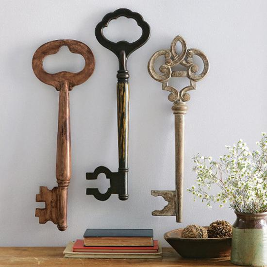 20 Keys Home Decorations Opening New Doors To Decorating