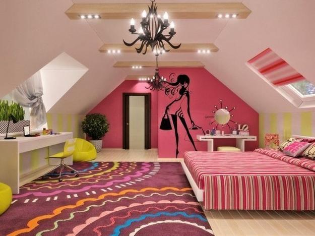 bright room colors and wall painting ideas