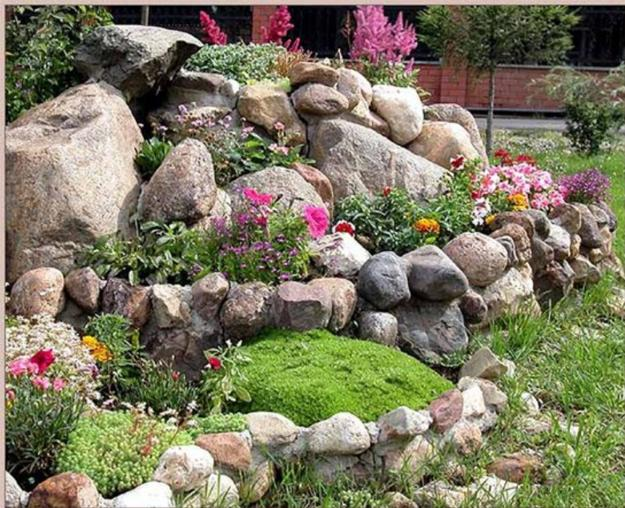 Small Backyard Landscaping With Rocks And Plants