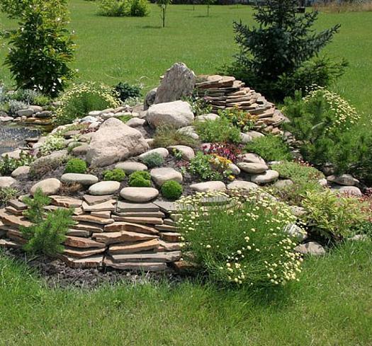 32 Backyard Rock Garden Ideas: 20 Blooming Rock Garden Design Ideas And Backyard