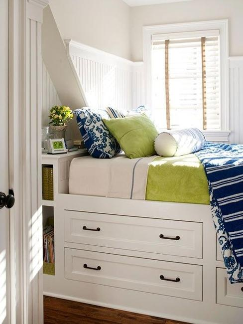 22 Small Bedroom Designs, Home Staging Tips to Maximize ... on Bedroom Ideas Small Room  id=11458
