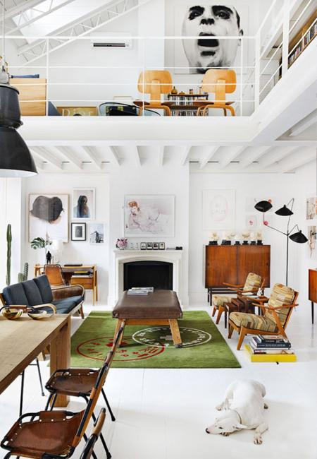 space saving loft designs modern interiors 1 - View Small House With Second Floor Interior Design Pictures