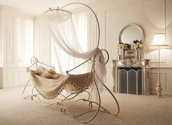 Vintage nursery furniture Cream Baby Baby Hammock Suspended Baby Bed In Vintage Style Lushome 33 Modern Baby Cribs In Contemporary Shapes And Vintage Style